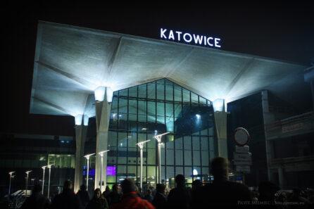 Dworzec w Katowicach – październik 2012