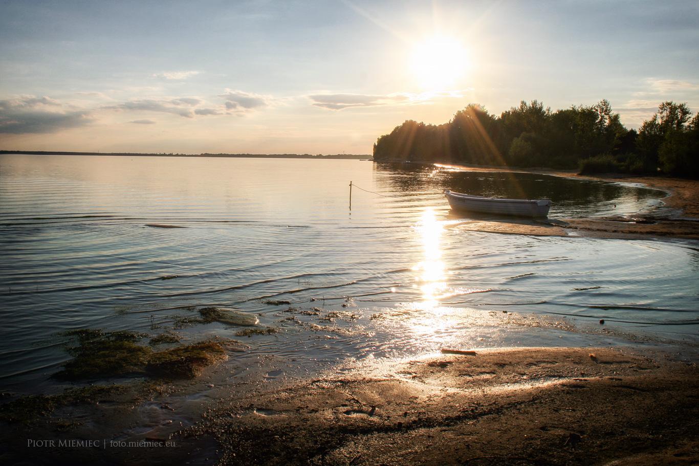 Jezioro Turawskie w sierpniu