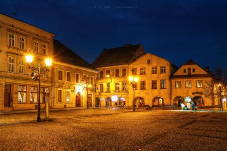 Rynek w Tarnowskich Górach – marzec 2015