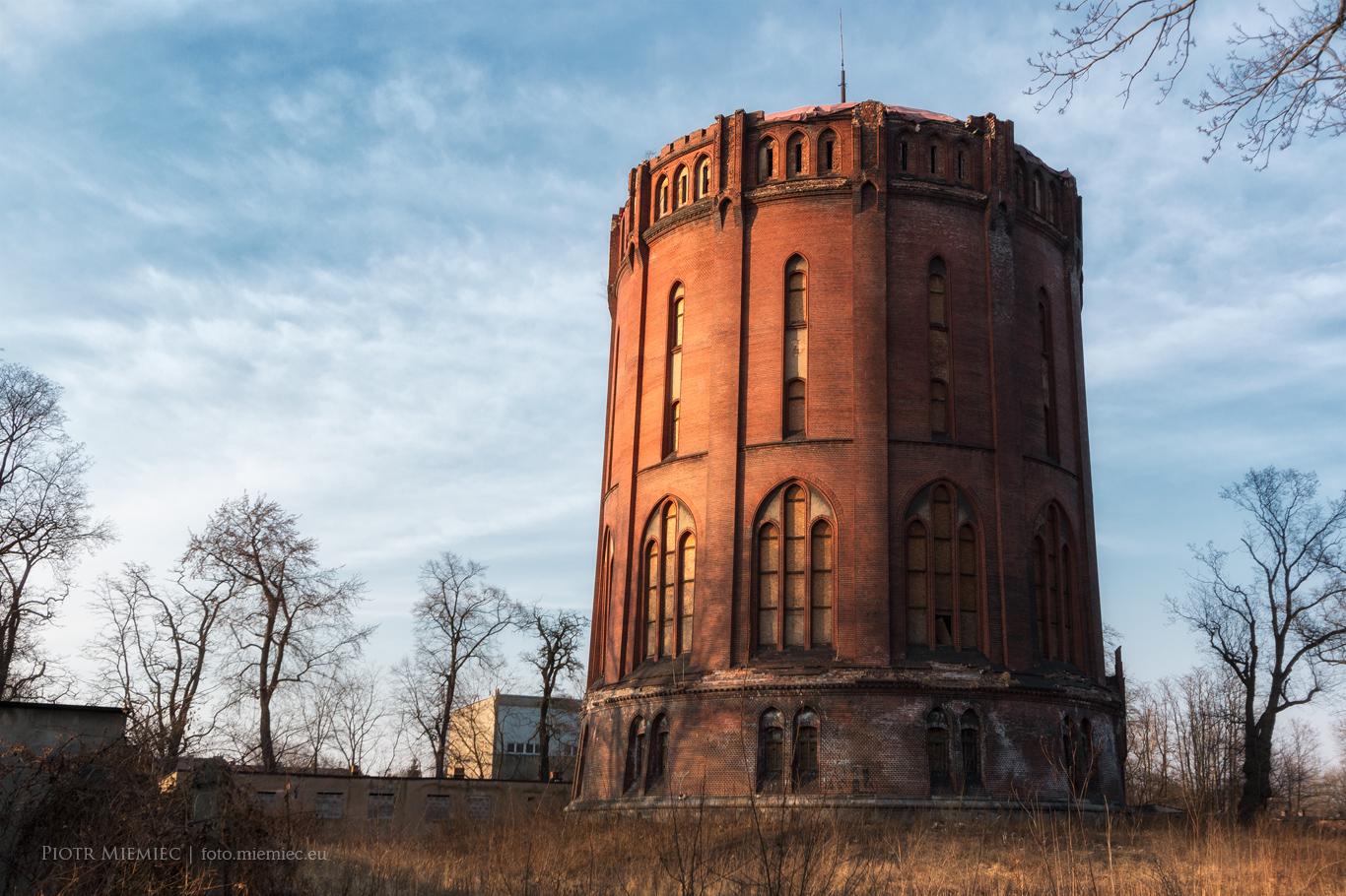 Wieża ciśnień w Gliwicach – marzec 2018