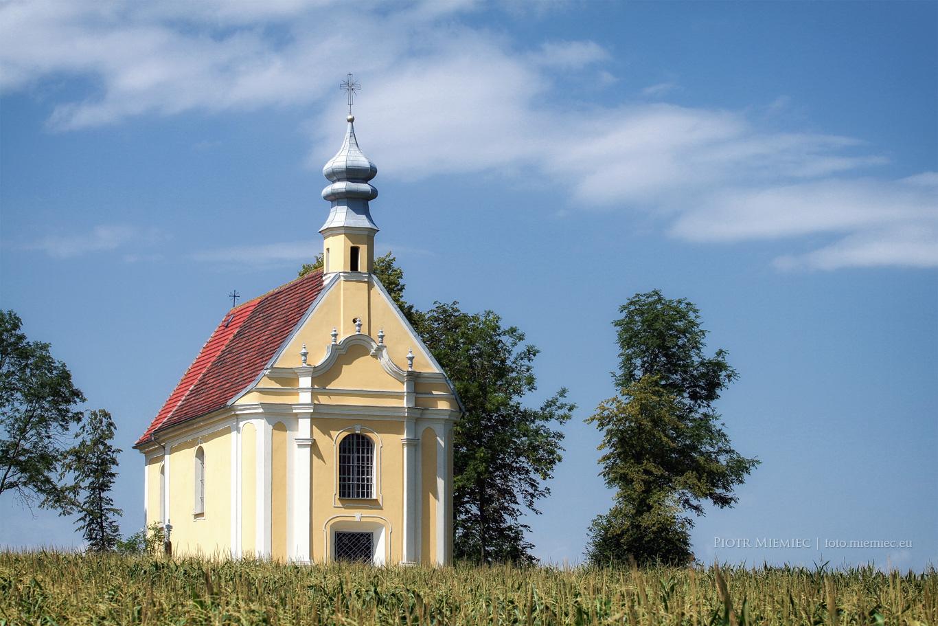 Kaplica na Glinianej Górce – sierpień 2013
