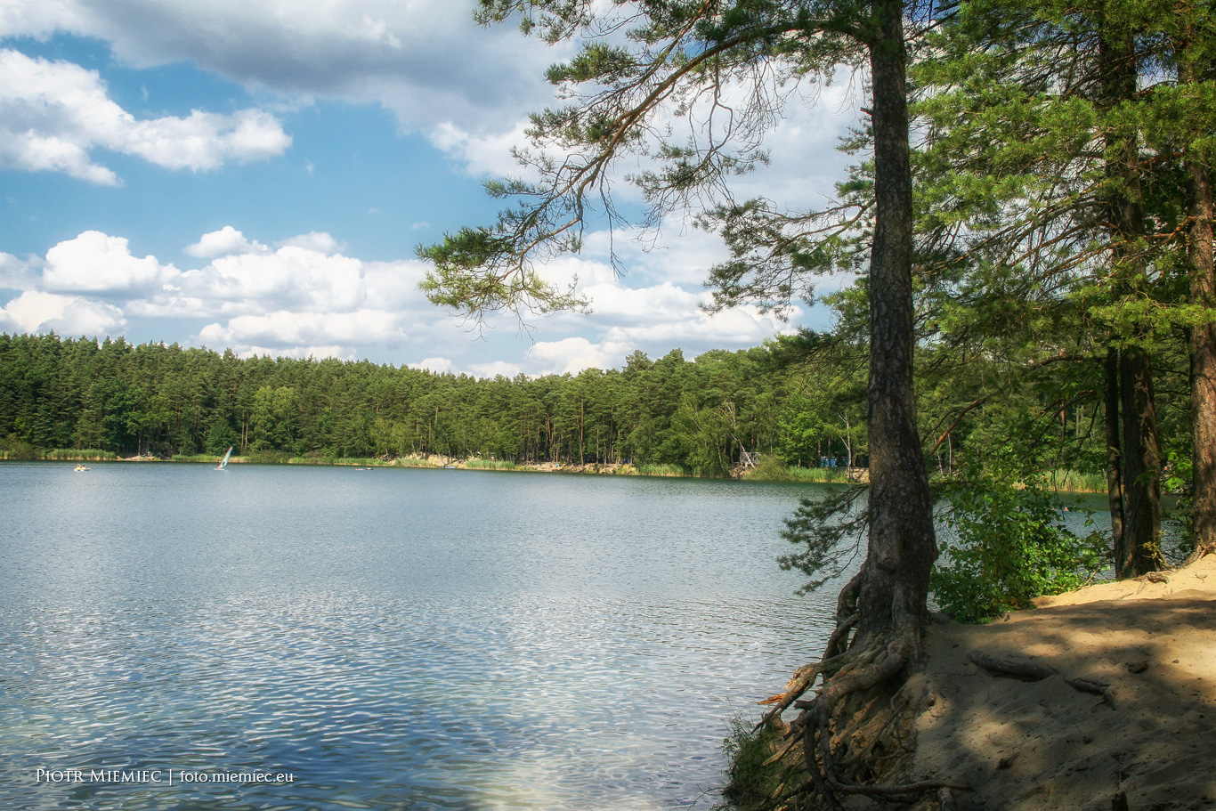 Jezioro Srebrne – sierpień 2013