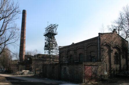 Zabudowania kopalni Brandenburg