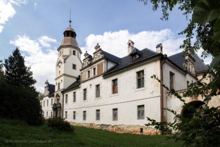 Pałac w Dąbrowie – sierpień 2014