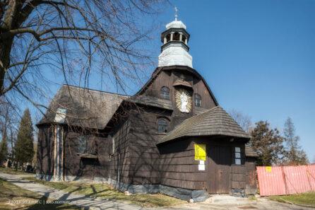 Kościół w Baborowie – kwiecień 2018