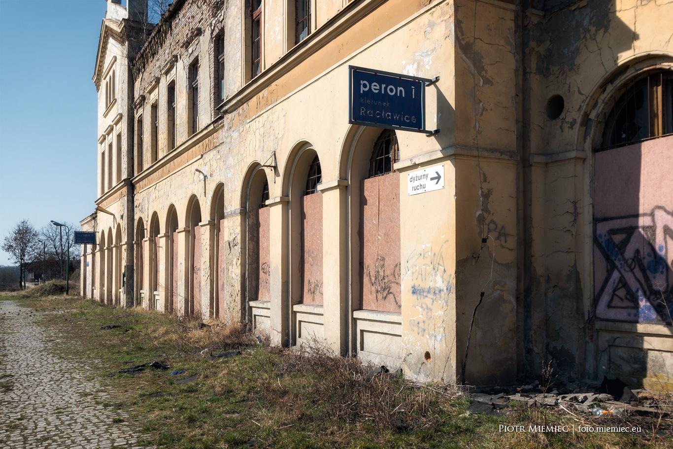 Głubczyce dworzec kolejowy