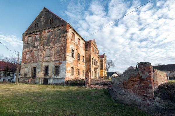 Pałac w Kazimierzu – kwiecień 2018