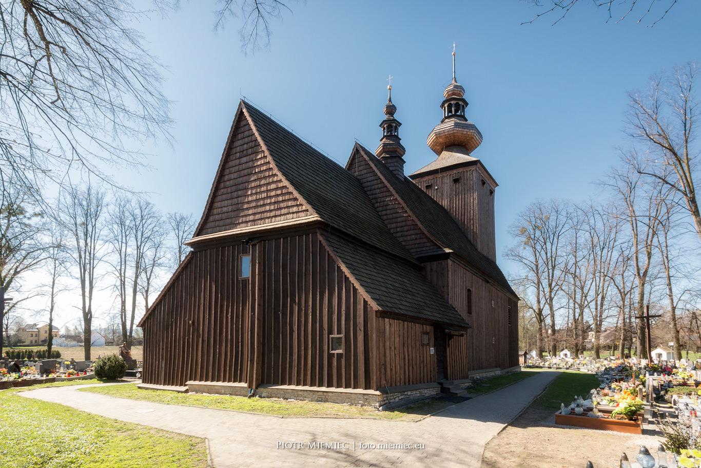 Kościół w Ćwiklicach – kwiecień 2018