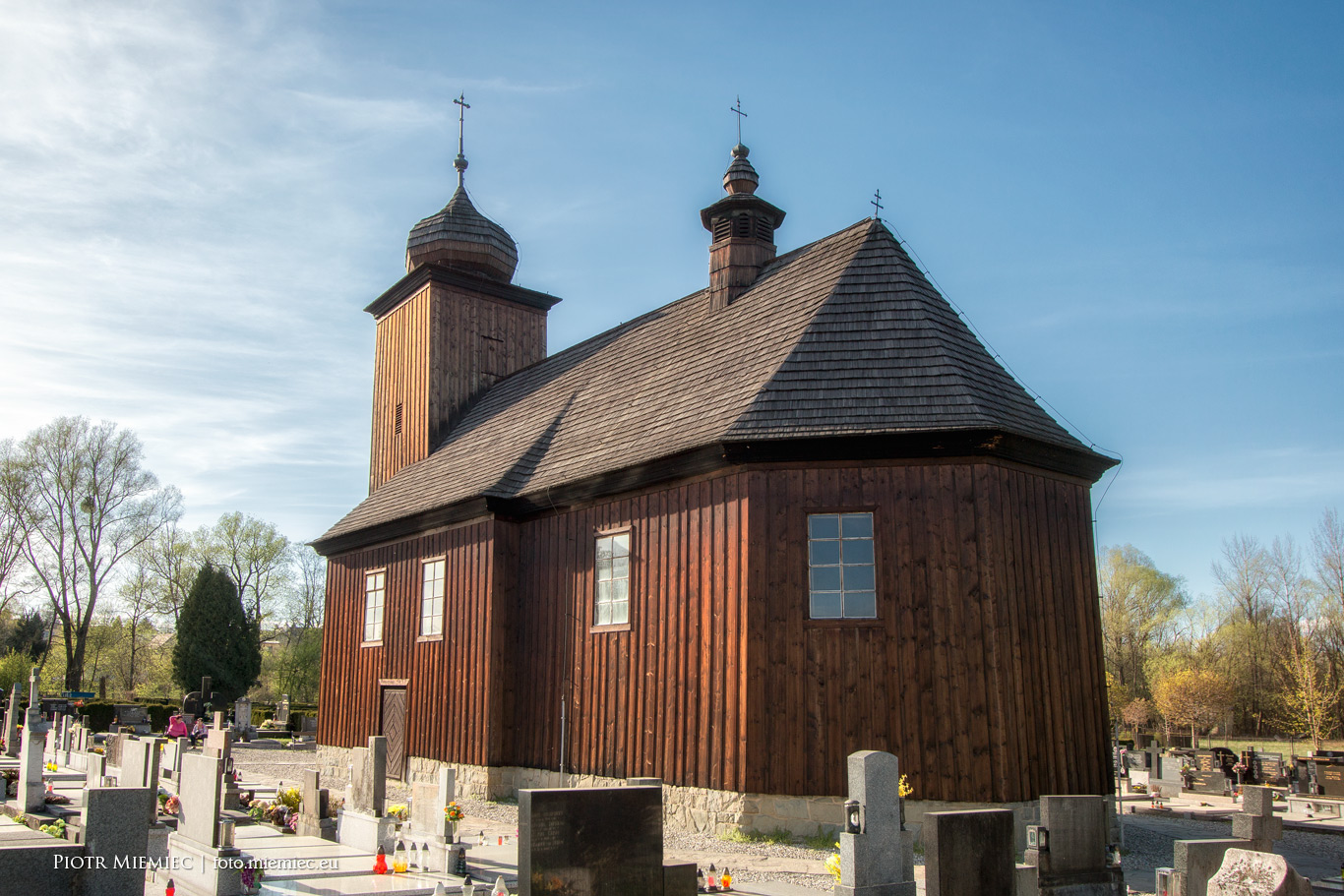 Albrechtice drewniany kościół IMG_7445
