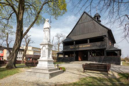 Kościół w Dobrzeniu Wielkim – IV 2018