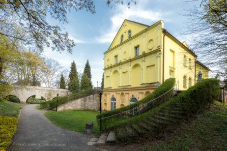 Zamek w Rogowie Opolskim – kwiecień 2018