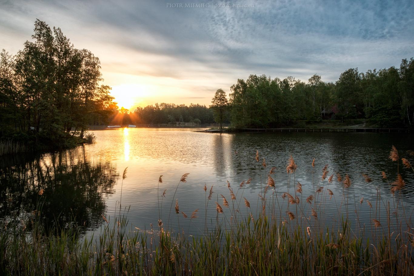 Jezioro w Gliwicach Czechowicach