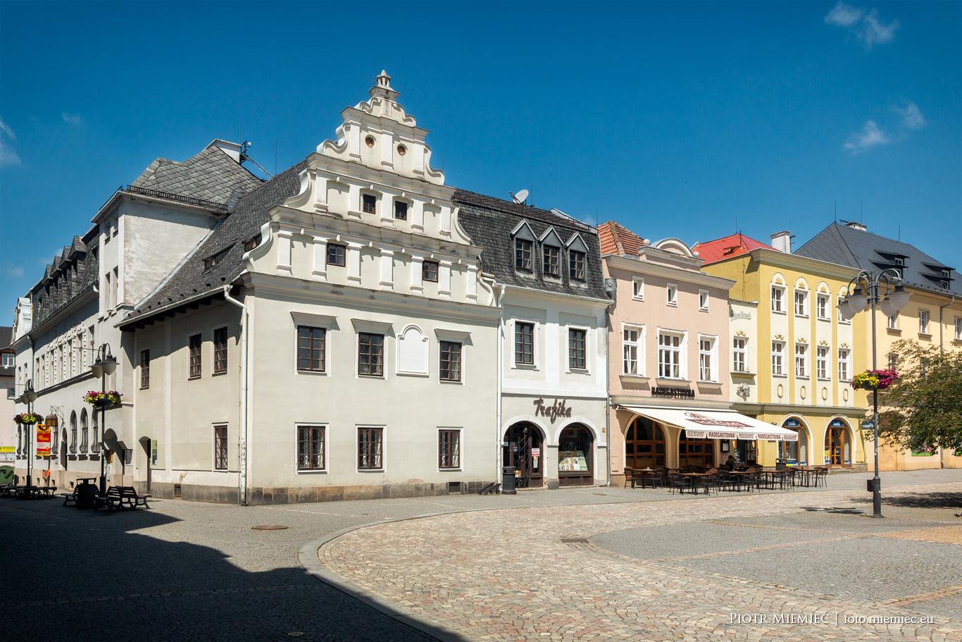 Rynek Bruntal Czechy Śląsk