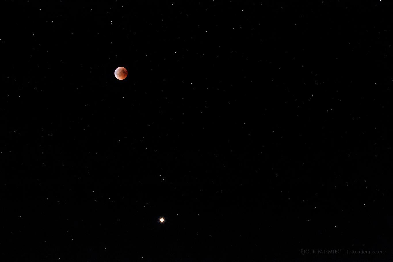 Zaćmienie Księżyca i wielka opozycja Marsa