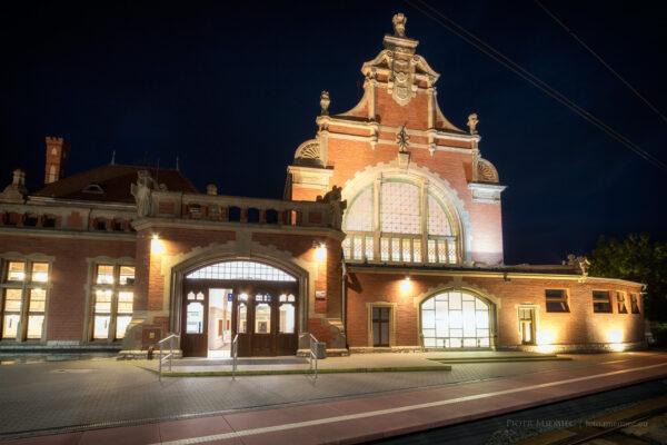 Dworzec kolejowy w Opolu