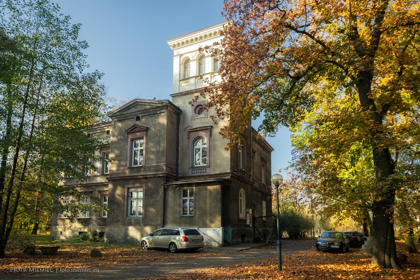 Pałac w Leszczynach – październik 2018