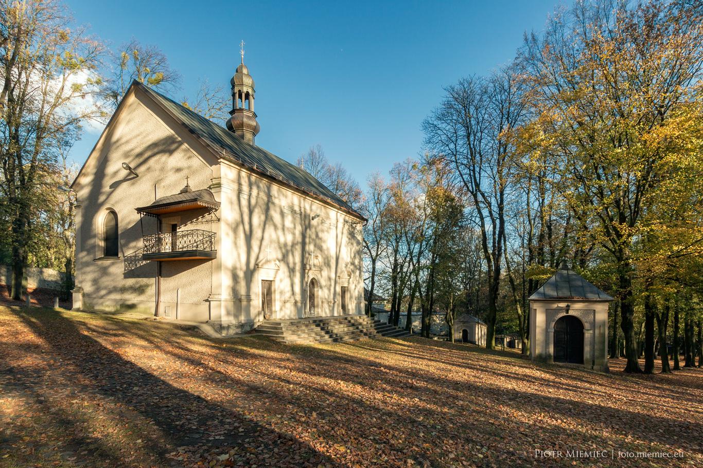 Góra Św Anny Kościół Świętego Krzyża