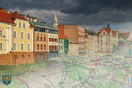 Górny Śląsk – Mapa