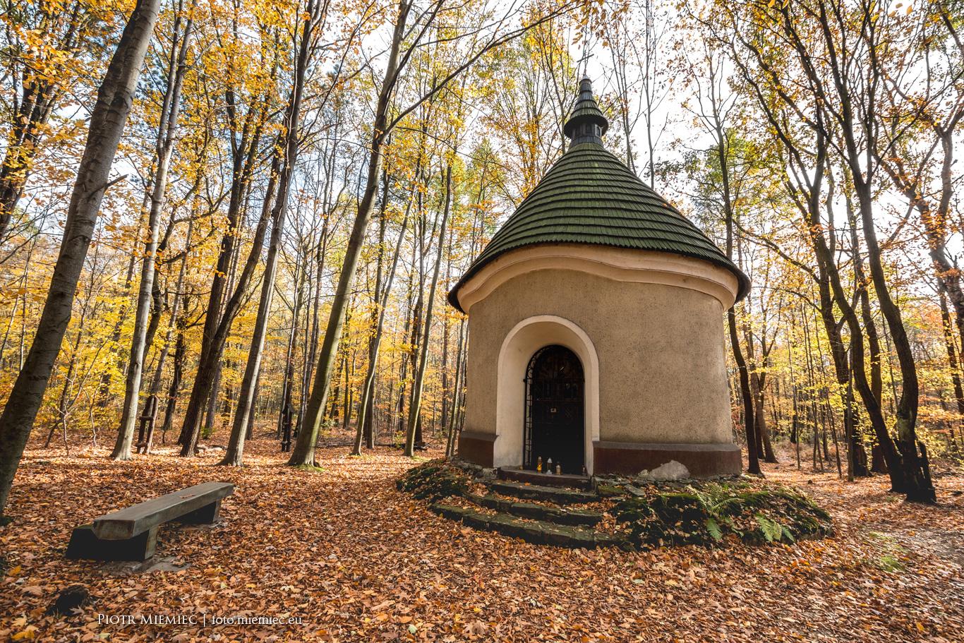 Katowice kaplica św. Huberta