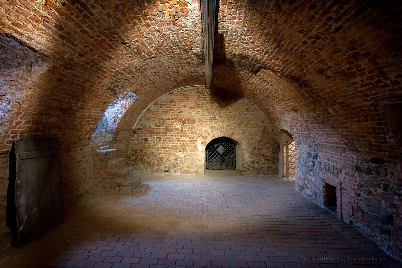 Piwnice w Zamku Niemodlin