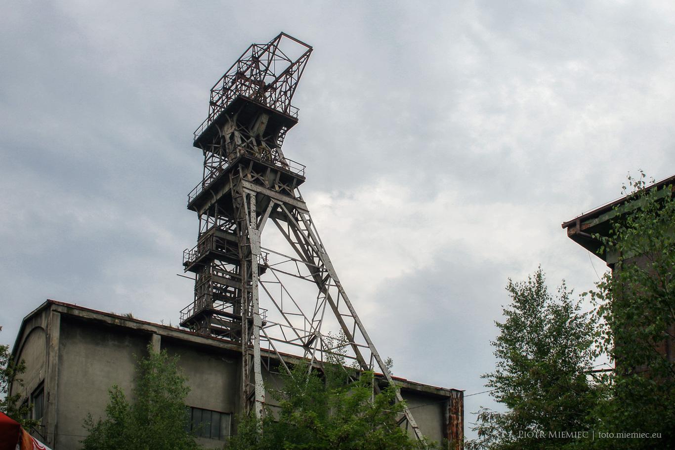 Wieża wyciągowa szybu Mikołaj