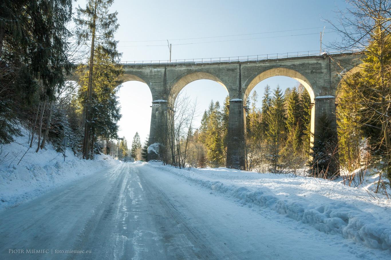 Wiadukt kolejowy w Wiśle