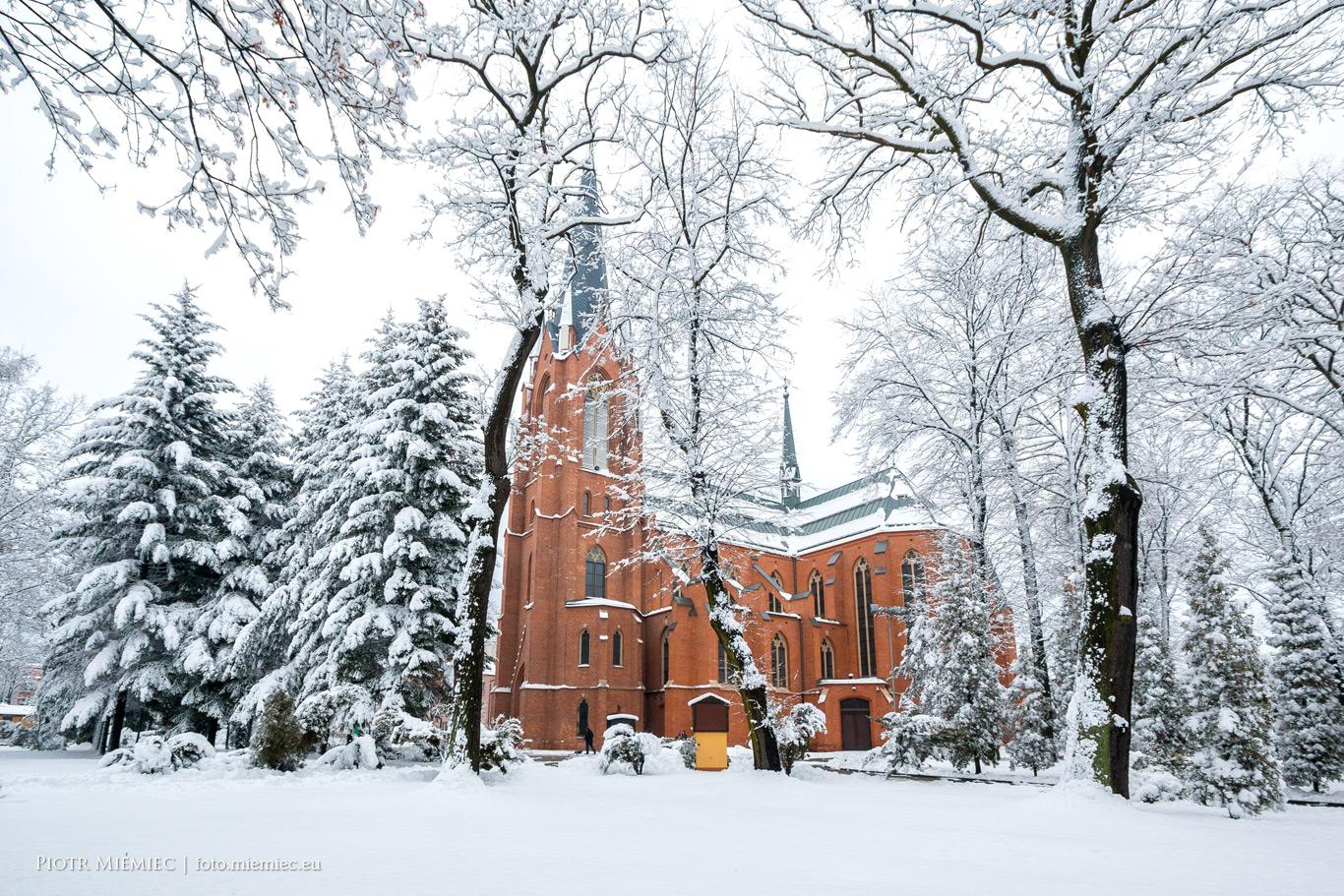 Mikulczyce - Kościół pw. św. Wawrzyńca.
