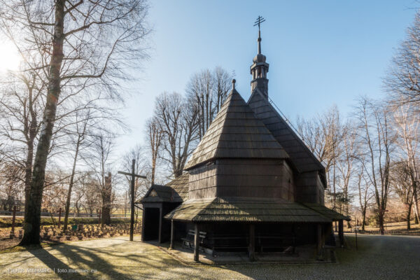 Pietrowice Wielkie – kościół drewniany