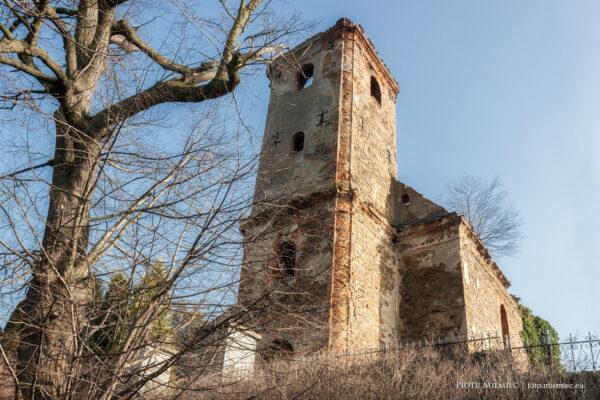 Pielgrzymów – Ruiny kościoła
