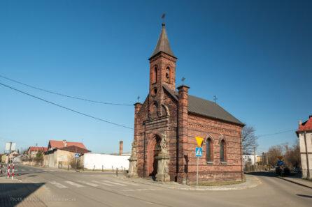 Kaplica z 1889 roku w Baborowie