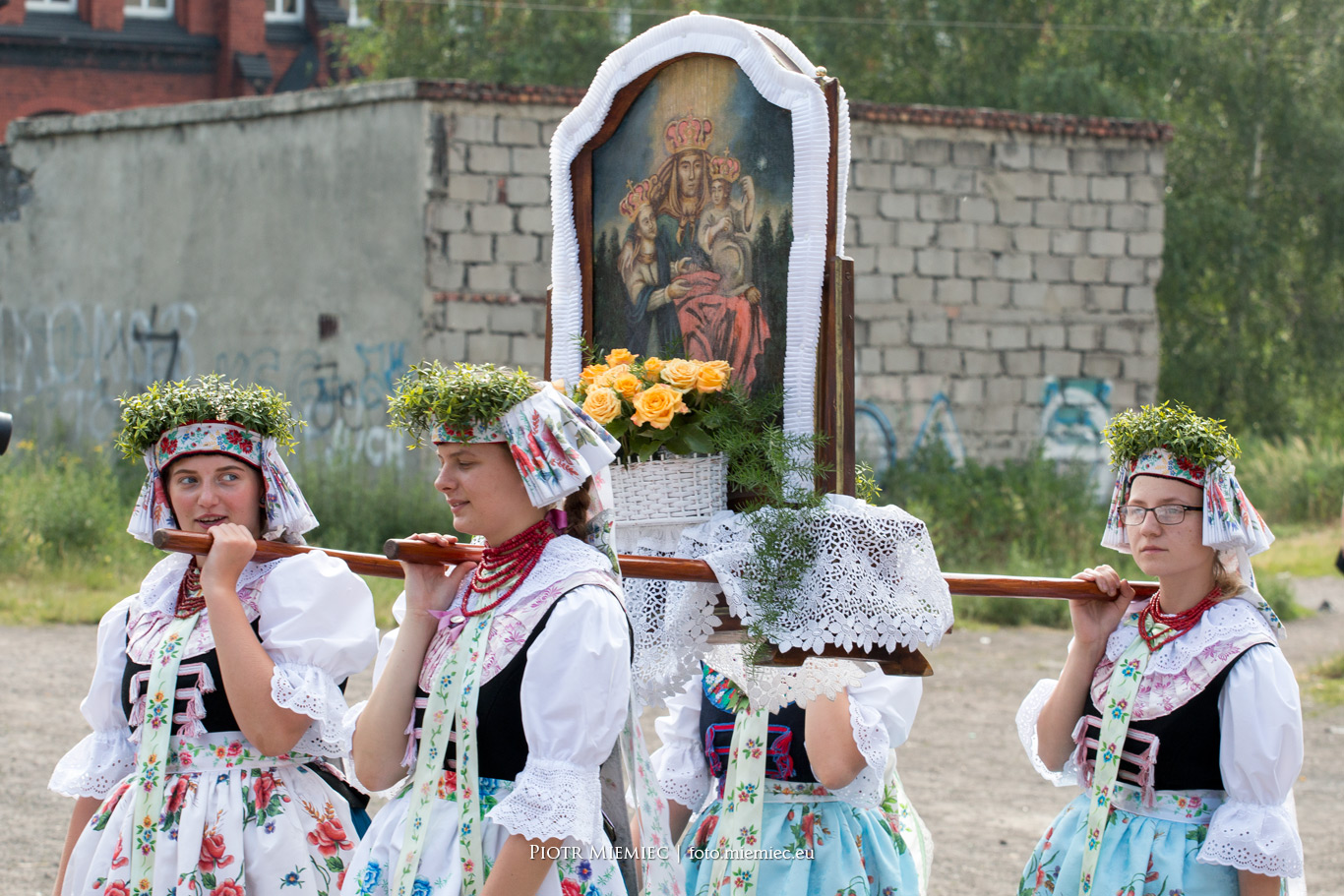 Świętochłowice Lipiny procesja Bożego Ciała