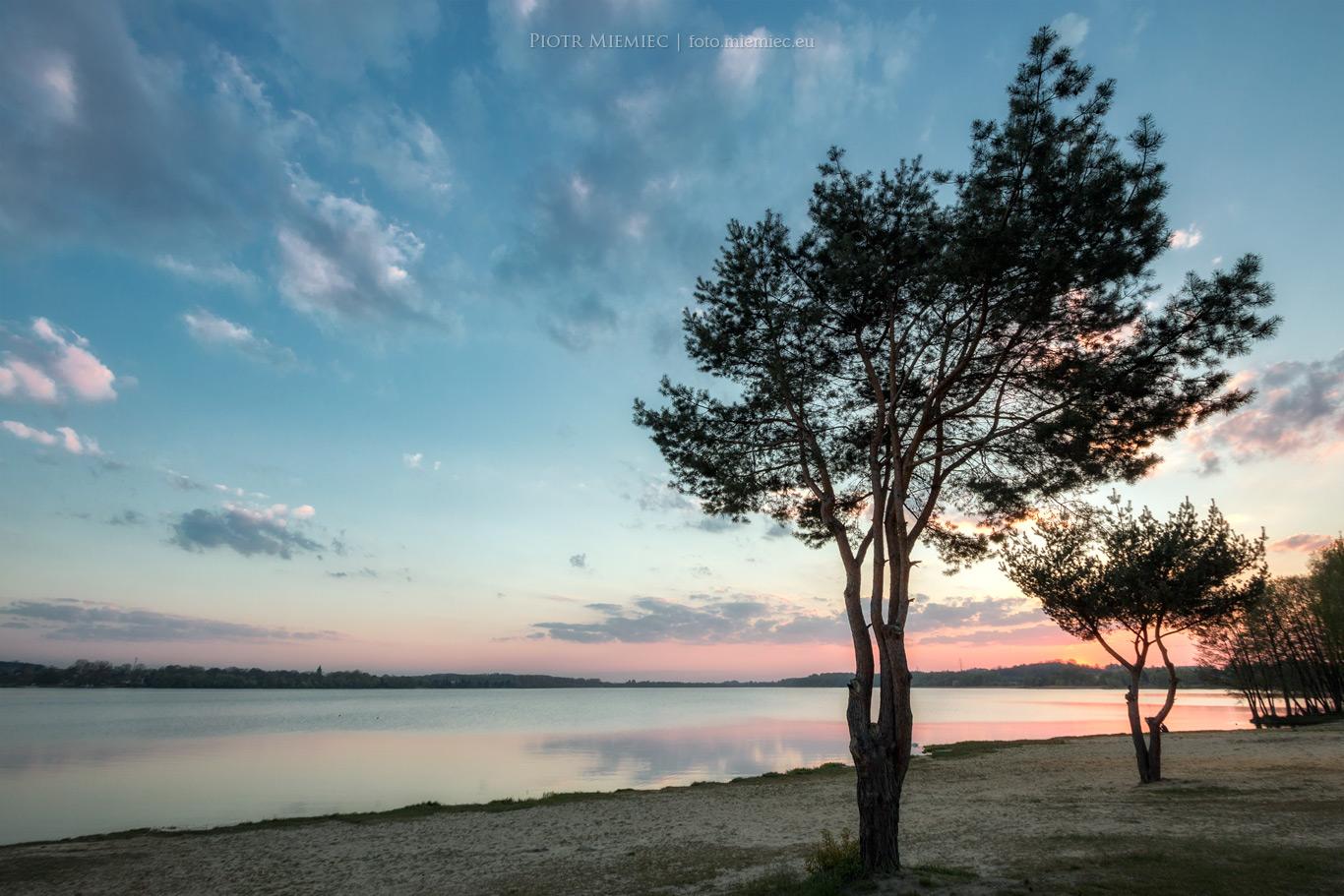 Jezioro Pławniowice plaża