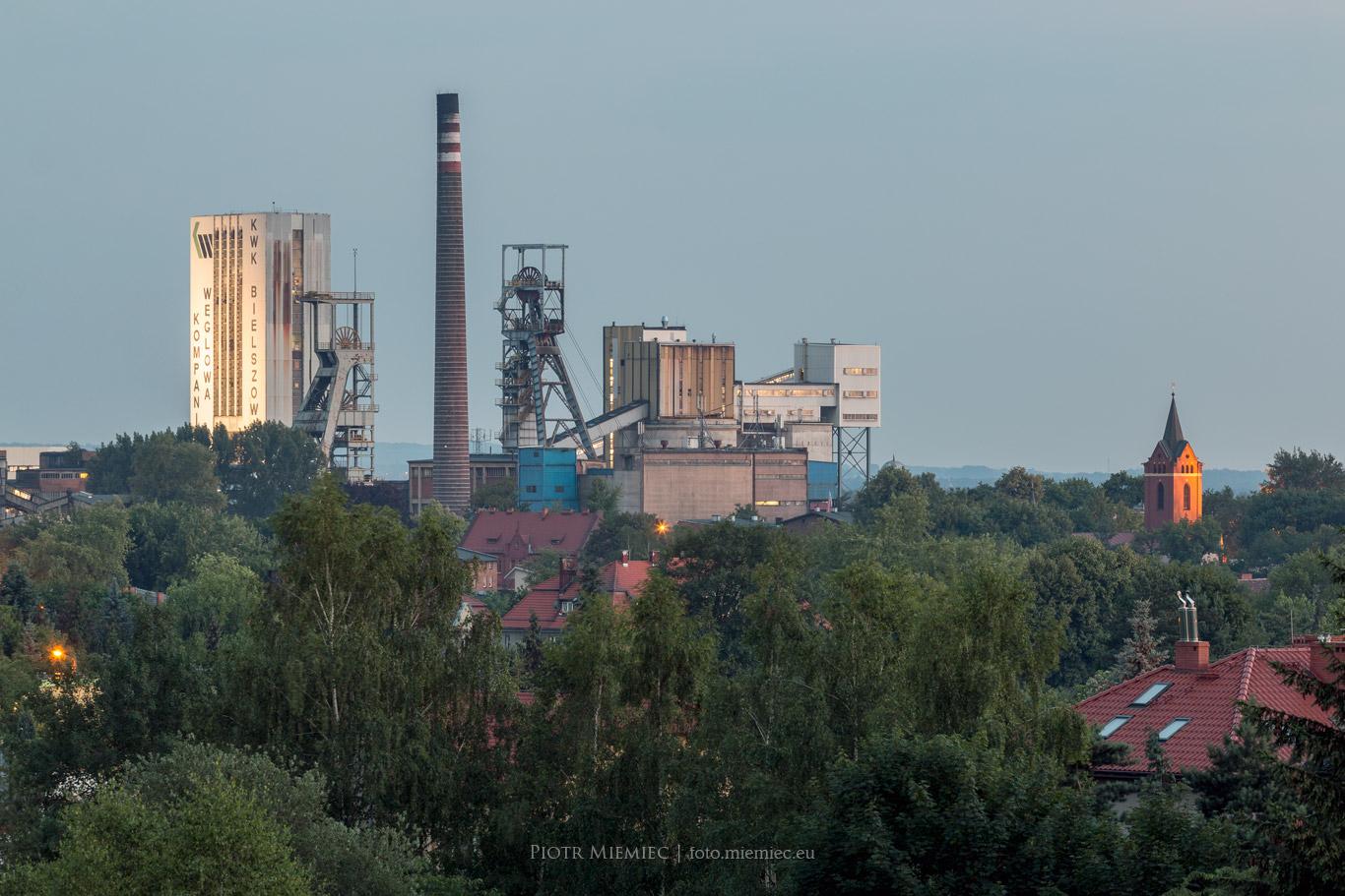 Kopalnia Bielszowice – czerwiec 2018
