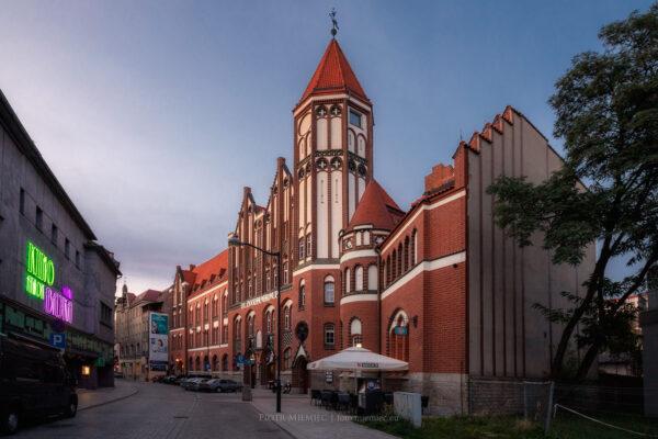 Budynek poczty w Gliwicach