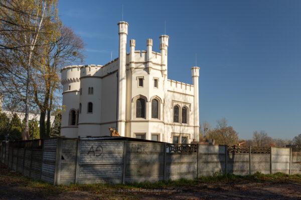 Pałac w Miechowicach – październik 2019