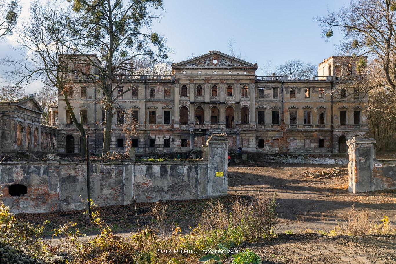 Pałac w Sławików