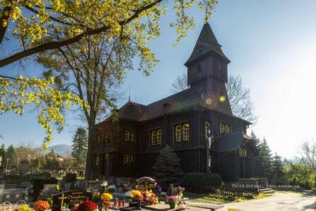 Bystřice – drewniany kościół