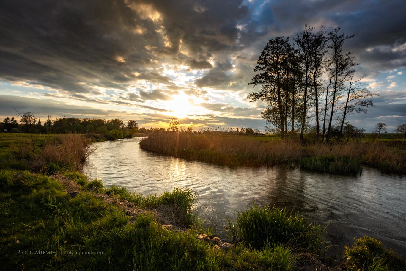 Rzeka Kłodnica w Sławięcicach