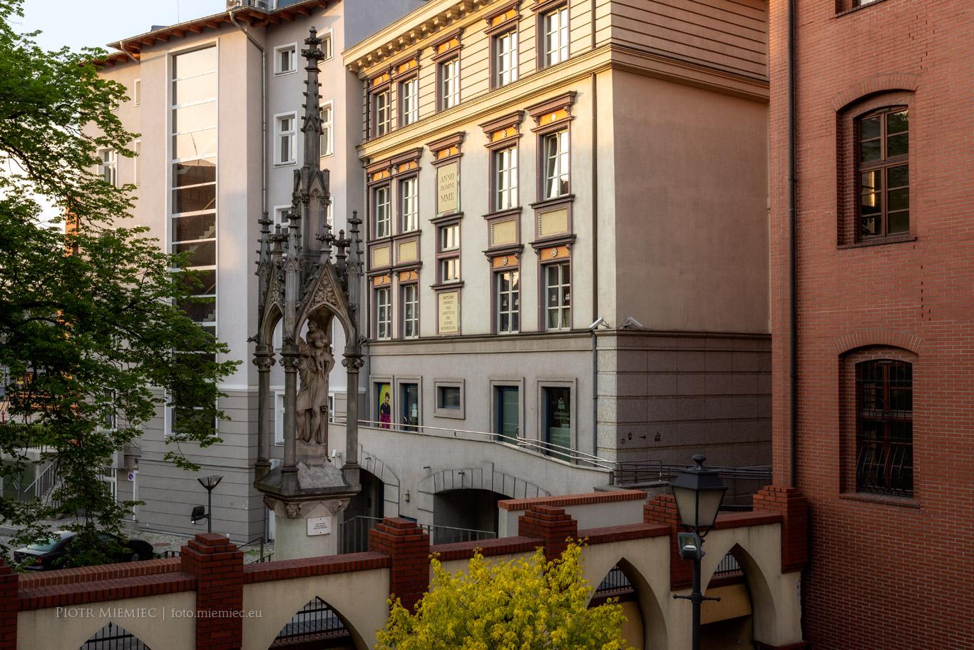 Opole Figura św. Krzysztofa