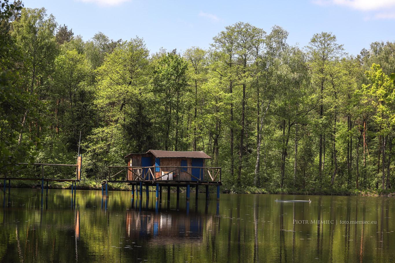 fot. 3096 Chatka na wodzie