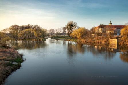 Rzeka Odra w Krapkowicach