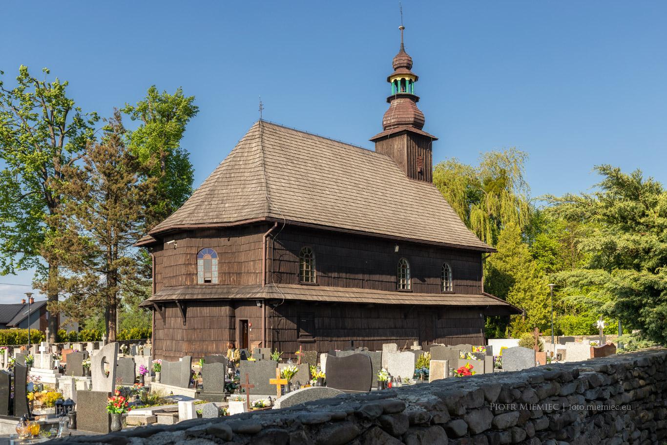 Drewniany kościół w Ustroniu