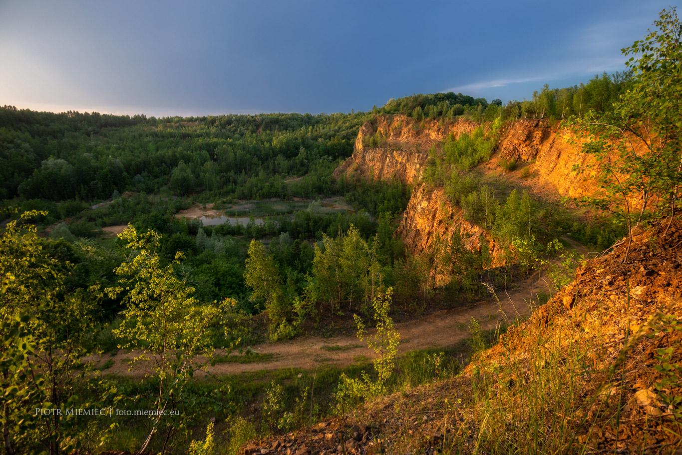 Kamieniołom Bobrowniki - Wielki Kanion Tarnogórski