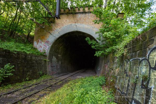Tunel kolejowy w Rydułtowach
