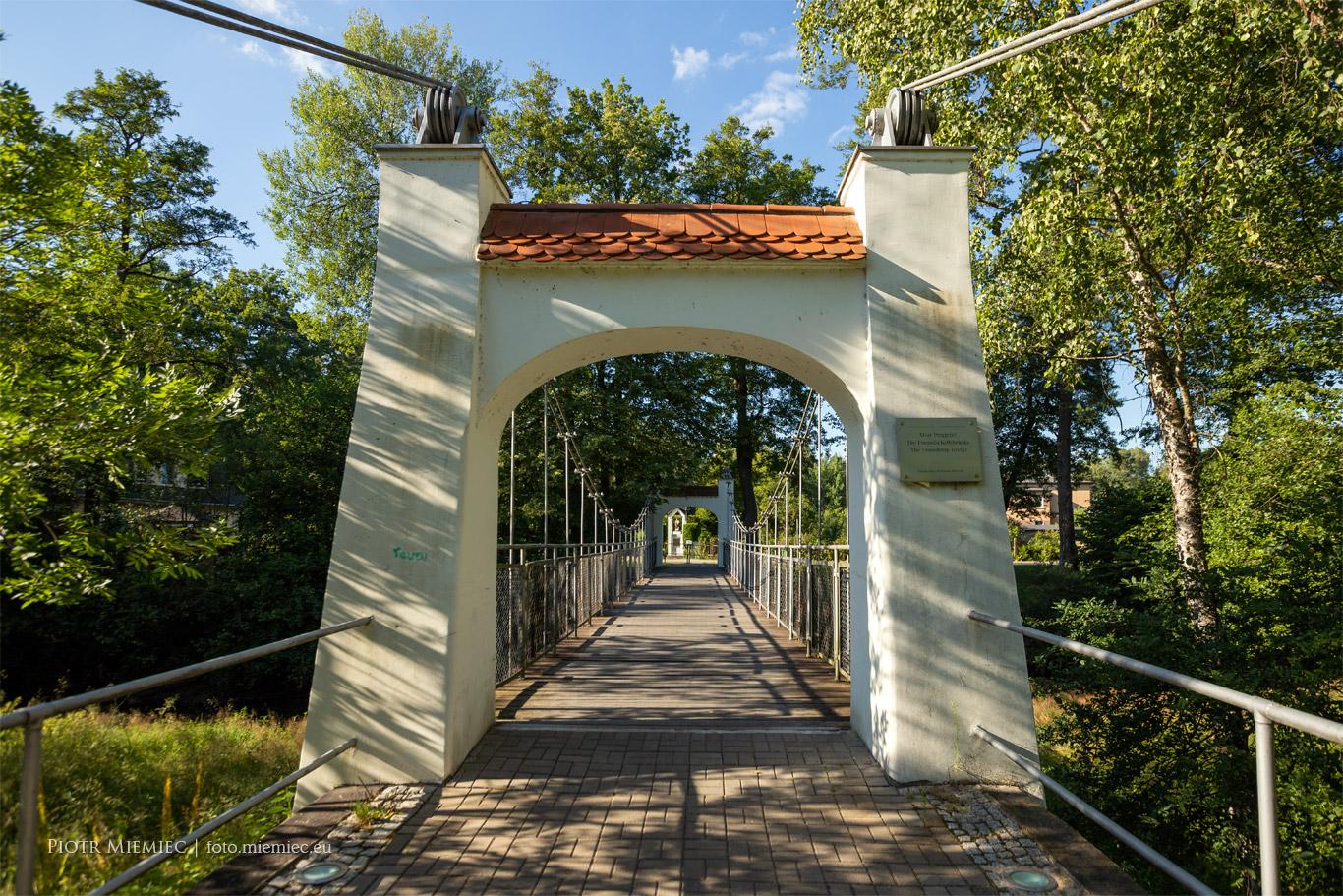 Most wiszący w Krupskim Młynie
