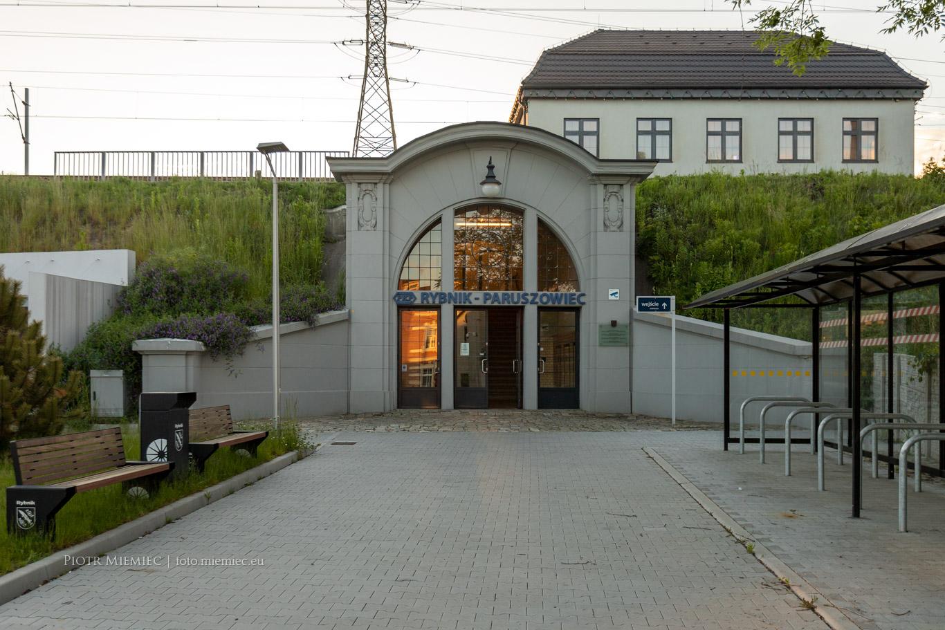 Dworzec Rybnik Paruszowiec – czerwiec 2020
