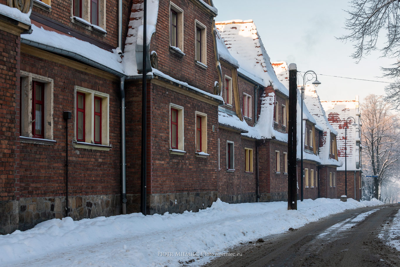 Ruda, osiedle przy ulicy Kościelnej.