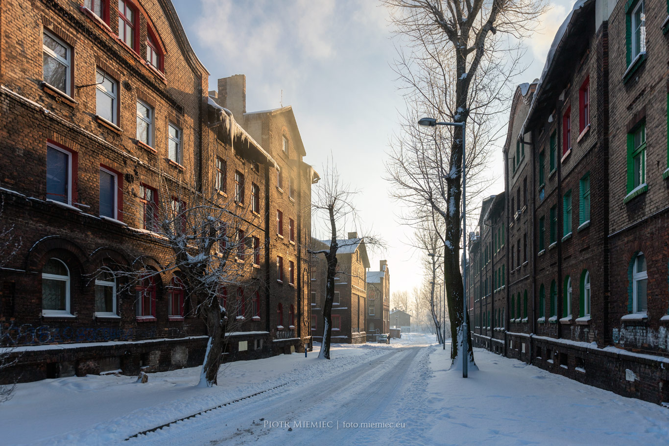 Zima na Kaufhausie