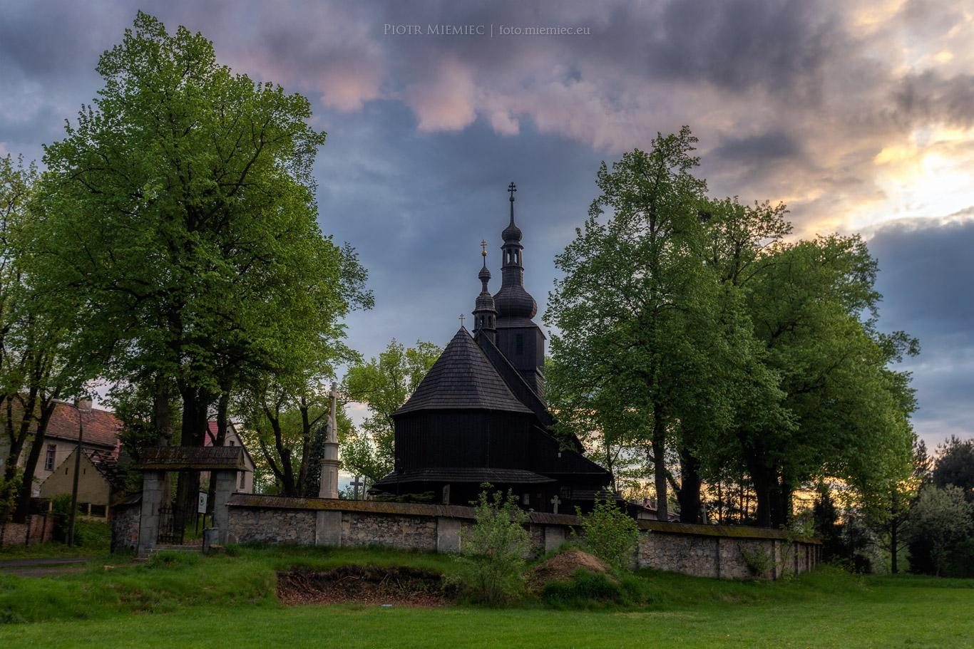 Bełk drewniany kościół