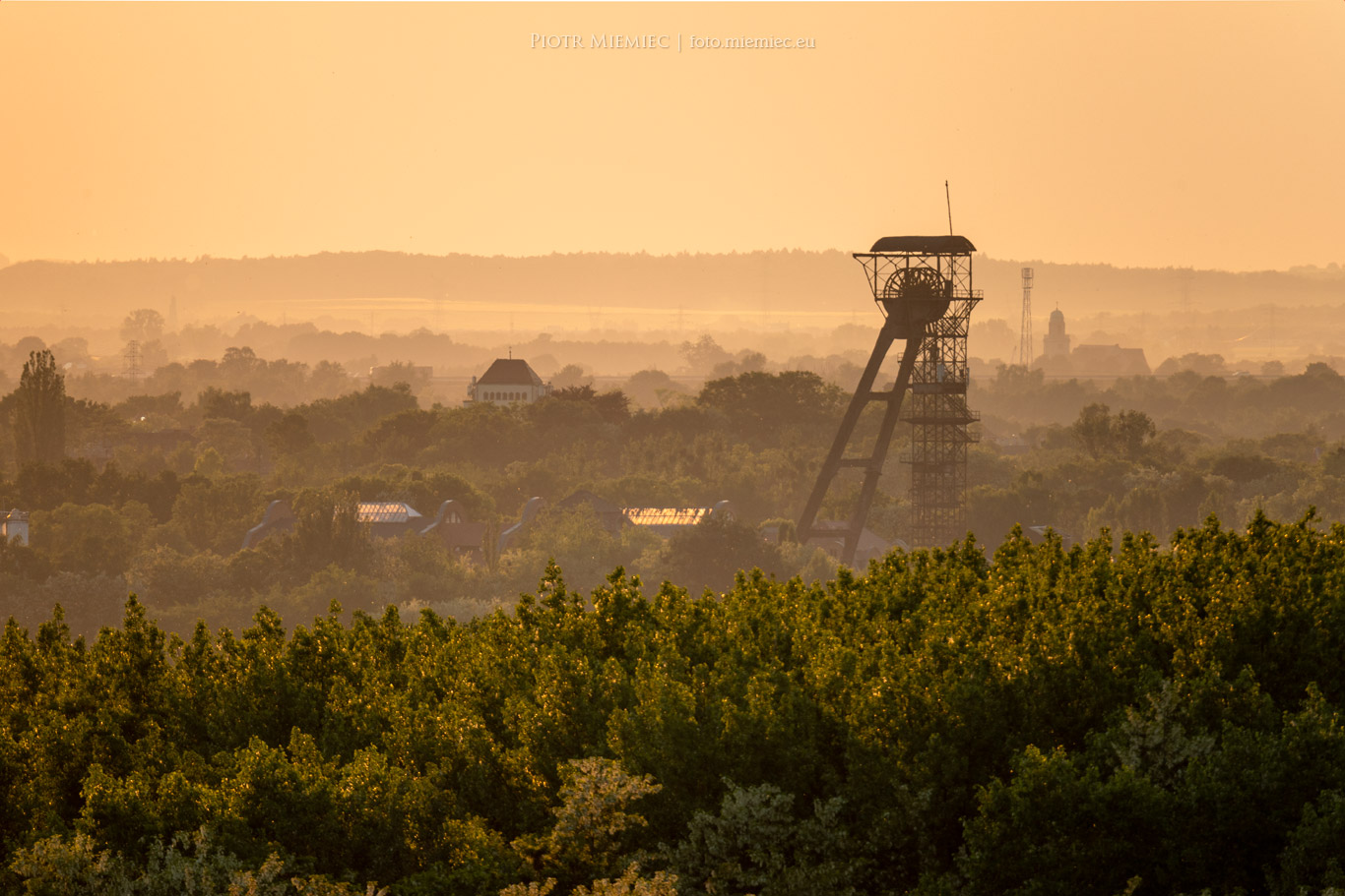 Była kopalnia Ludwik - Szyb Tadeusz
